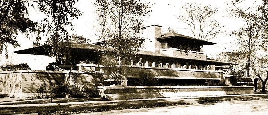 Frank Lloyd Wright Prairie Style prairie style home in midtown kansas city - at home in kansas city