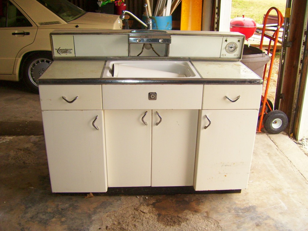 Retro metal cabinets for sale at home in kansas city for Metal kitchen cabinets
