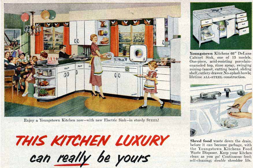 share this - Retro Metal Kitchen Cabinets