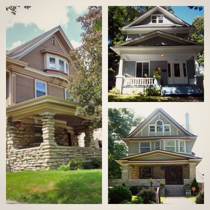 What is a kansas city shirtwaist house at home in for Styles of homes built in 1900