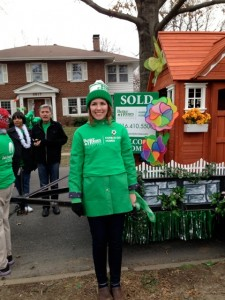 Brookside St Patrick's Day Float