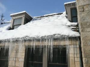 Kansas City Ice Dam